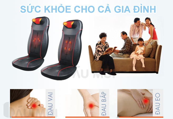 Hiệu quả sử dụng ghế massage