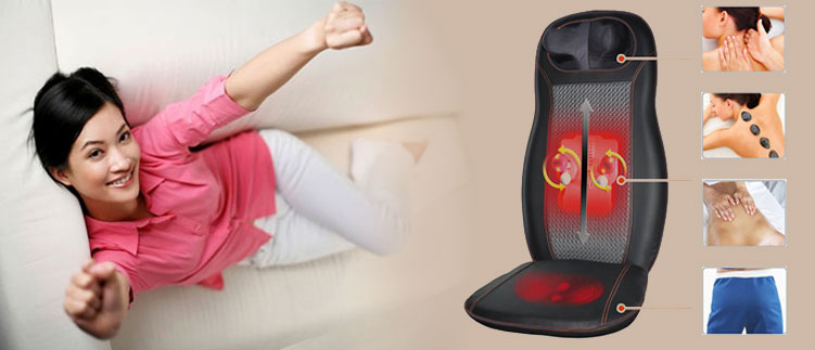Đau lưng và cổ cứng khi dùng ghế massage mang hiệu quả gì