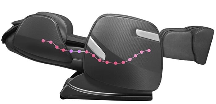 Ghế massage Ogawa và Công nghệ SuperTrac lăn là gì?