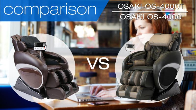 So sánh ghế massage Osaki OS-4000 và OS-4000T